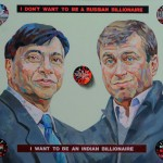 I want to be an Indian Billionaire, 2012, oil on canvas, 48x60inches
